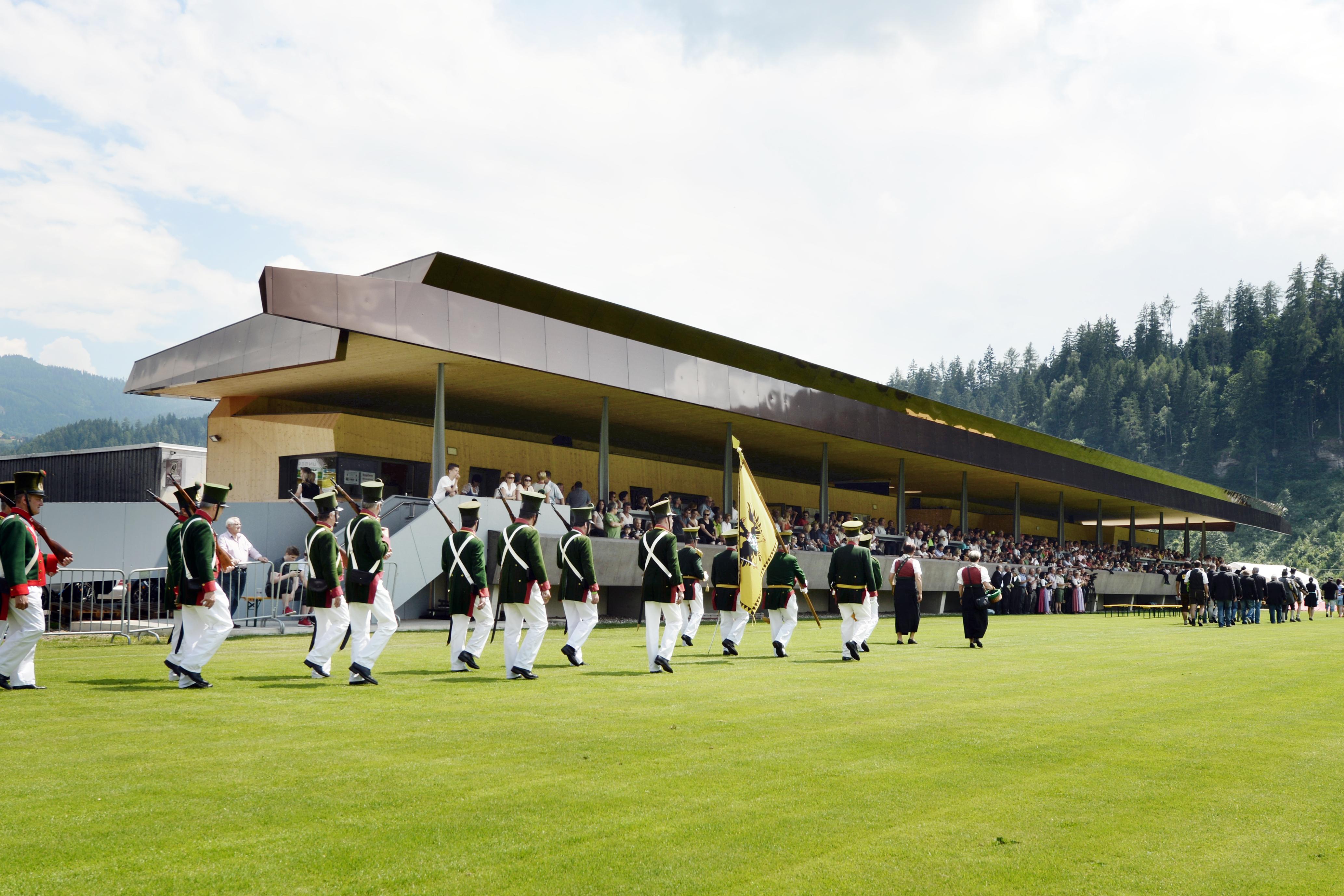 Stadion Murau - Feierliche Eröffnung der Sportanlage des SVU Murau ...
